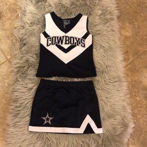Other - Kids cowboys cheerleaders costume